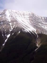 This is a clear shot of Mount...