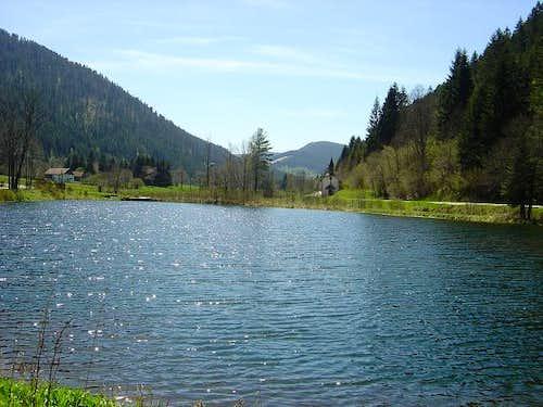 Le Rudlin, Ladie's Pond (May...