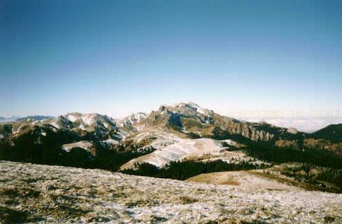 An autumn photo of Ciucas...