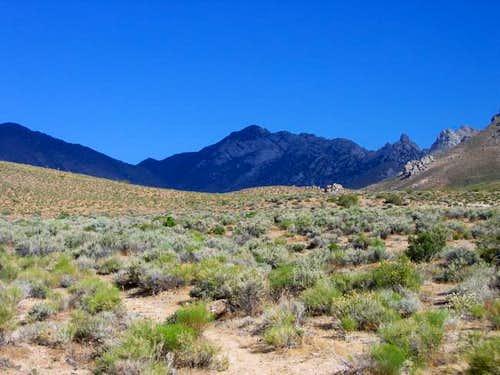Owens Peak from Indian Wells...
