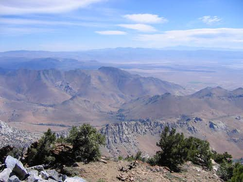 Owens Peak Summit View