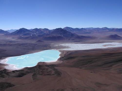 View of Laguna Verde and...