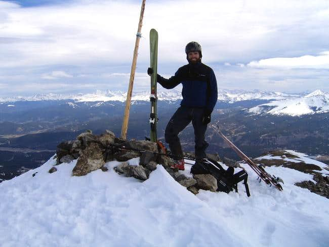 The summit of Peak 10 with...
