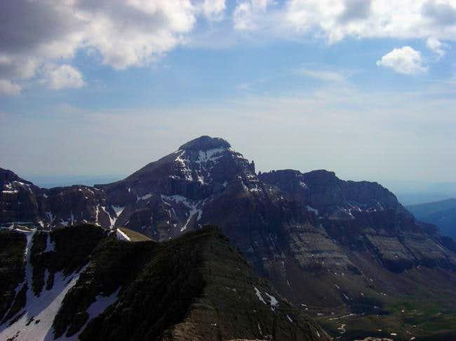 Collarada from the summit of...