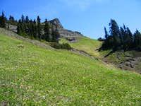 Alpine meadows below Wow...