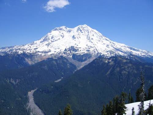 Mt. Rainier from summit of...