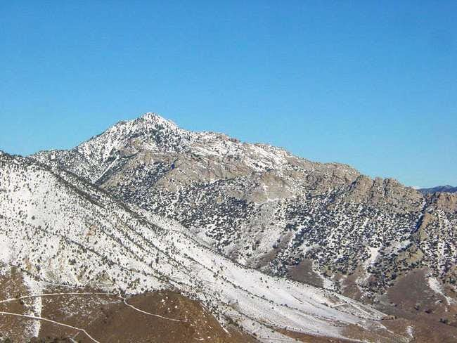 The SW Ridge of Owen's Peak...