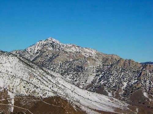The SW Ridge of Owen\'s Peak...