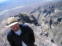 Me at the top of Notch Peak -...