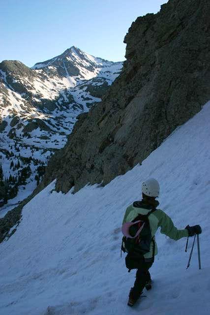 ColoradoSonya climbing the...