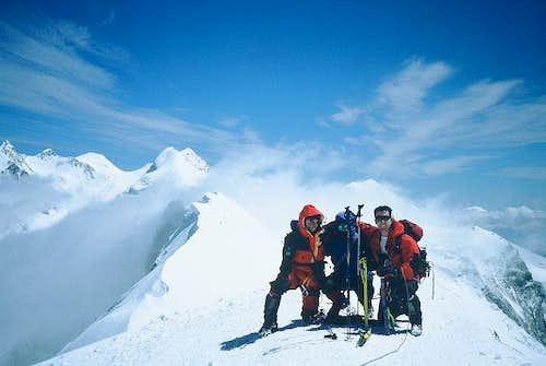 At the summit on Augoust 7th....