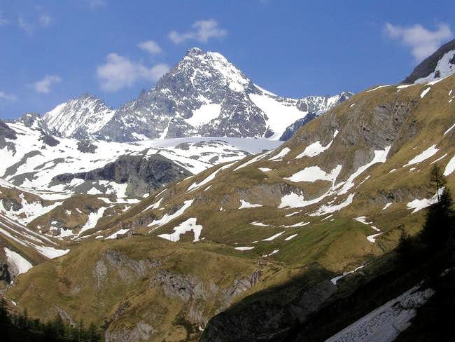 Grossglockner seen from the...