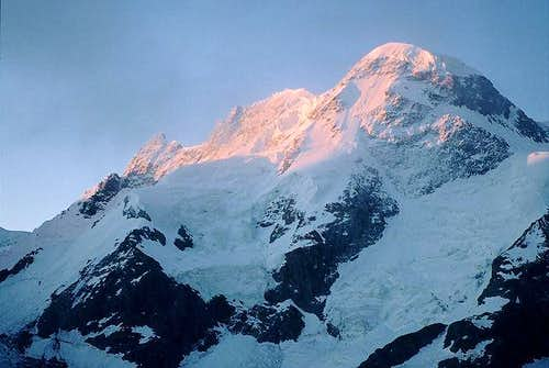 North face of Breithorn at...
