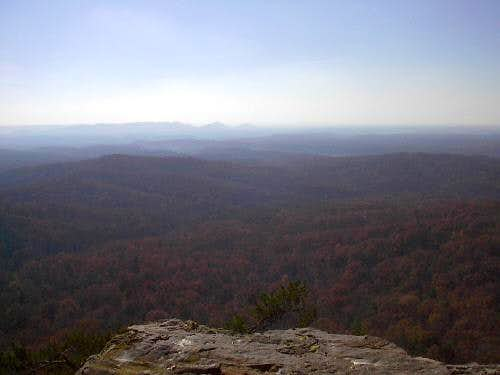A view of the overlook from...