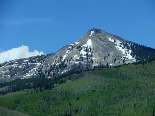 Hahn\'s Peak from near...