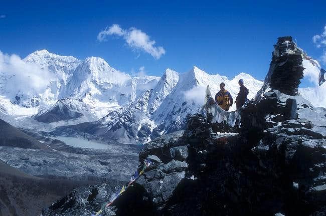 Summit view from Chukkung Ri...