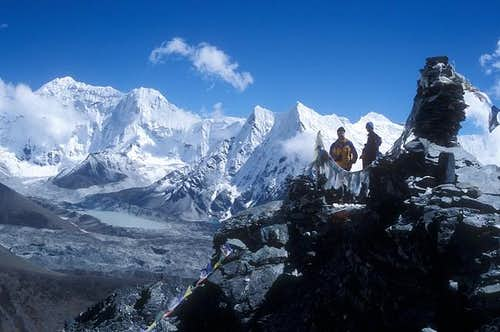 Summit view from Chukkung Ri...