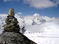 Naya Kanga from the slopes of...