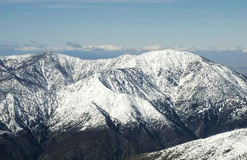 Baden-Powell From Mt. Baldy...