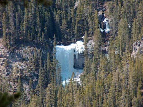An Ice Climb Viewed on our...