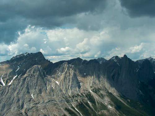 The Three Peaks of Mt. Edith...