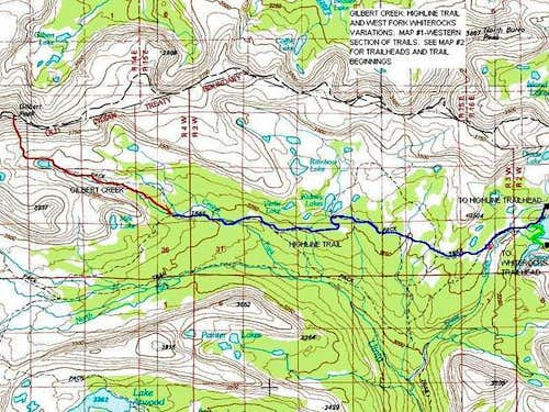 The Gilbert Creek Route...