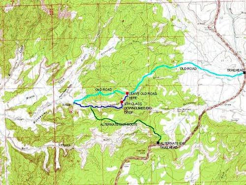 Buckwater Draw map showing...
