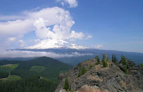 Mt. Adams from the summit of...