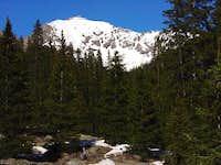 Jupiter Mountain's southwest...