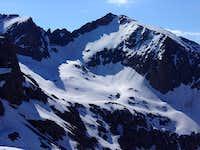 Jupiter Mountain's north face...