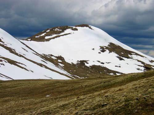 Vasquez Peak from Unnamed...