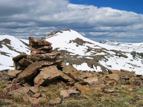 Vasquez Peak and Byers Peak...