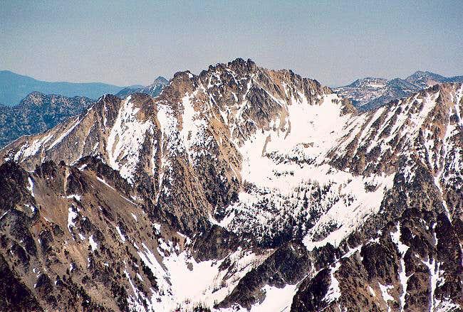 Devore Peak (8360+ ft) to the...