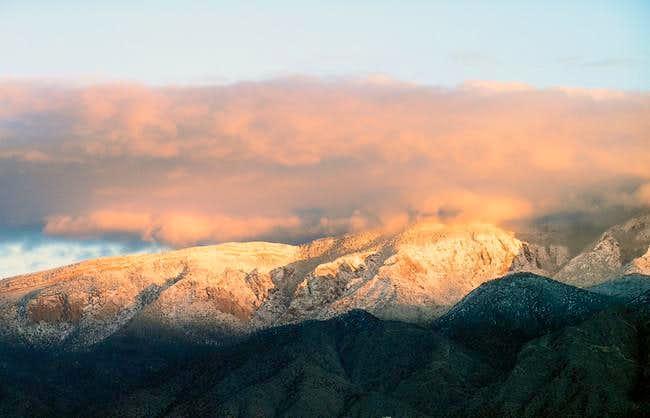 View from Rio Rancho Bosque...