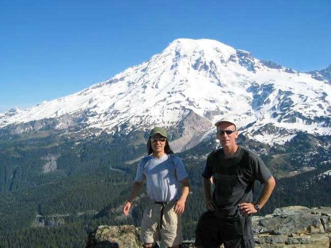 Summit of Pinnacle Peak with...