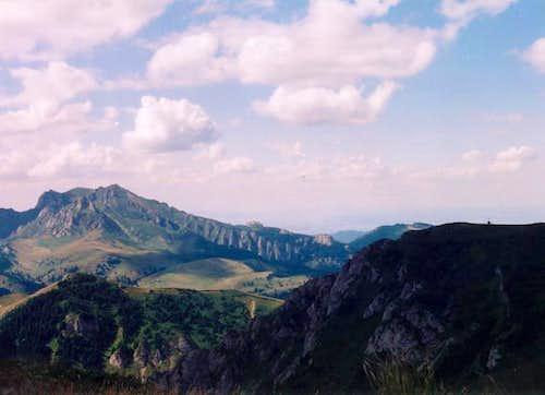 The summit of Ciucas