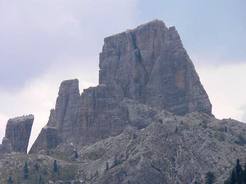 Cinque Torri as seen from...