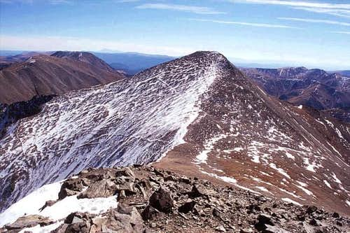 Good view of Grays Peak from...