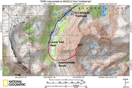 Eagles Nest Climbing Route