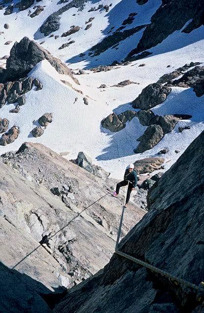 Rapping the South Ridge, from...
