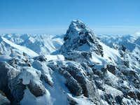 Ptarmigan Peak in February 2005