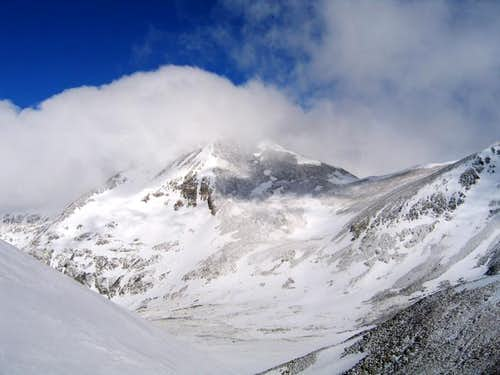Mount Democrat shrouded in...