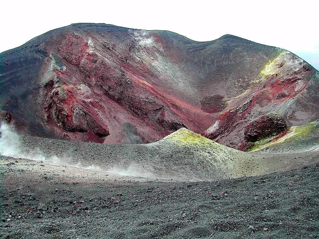 Etna - a creater near (southward)...