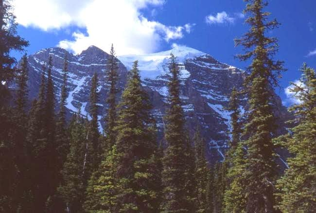 Mount Temple as seen from...