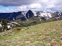Grandview Peak from summit of...