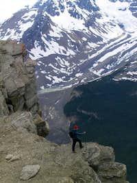 Following up on the top ridge...
