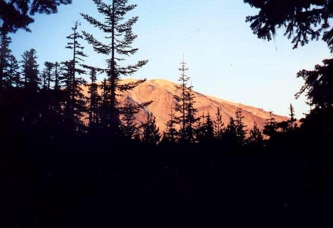 Sunset on September 1, 2002...