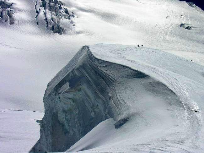 Route to Jungfrau