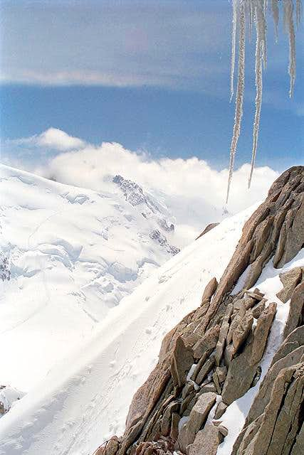 View from the Aiguille du...