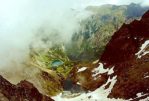 View to valley Ceska dolina...